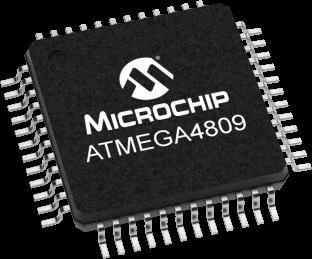 Новый высокопроизводительный 8-разрядный микроконтроллер ATmega4809 компании Microchip со встроенной flash-памятью