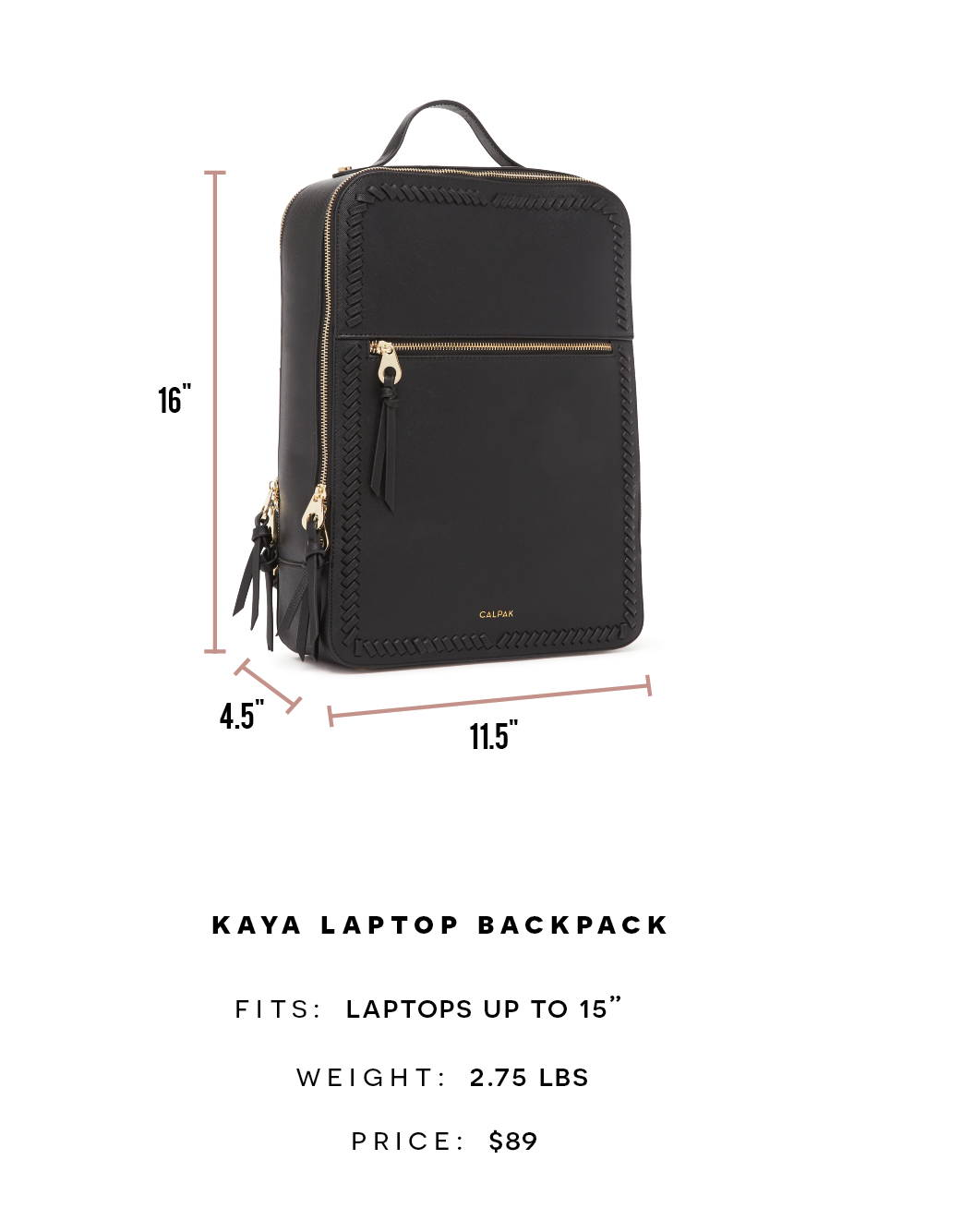 KAYA LAPTOP BACKPACK