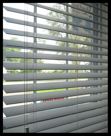 BLINDS- 2″ FAUX WHITE WOOD