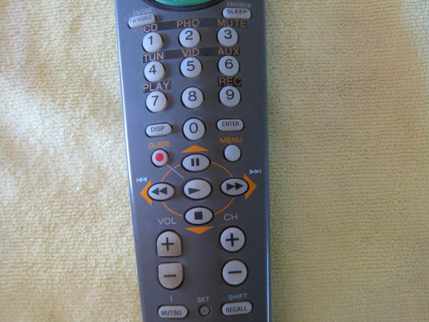 Placette  Sony Universal Remote  Line Stage
