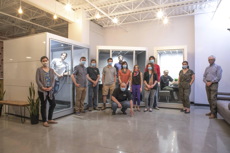 Kingston Ontario SnapCab Team at Fractal Coworking Space - Kingston Ontario Jobs