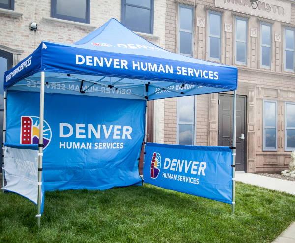 Art & Posters - Denver Human Services Tent