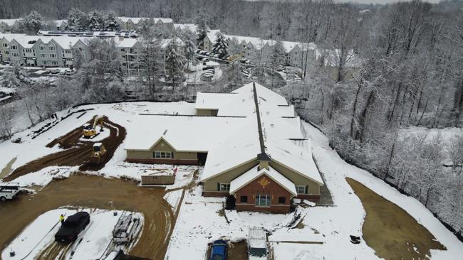 Ellicott City snow