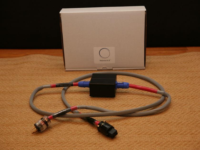 Silver Circle Audio Vesuvius dcB Power Cord with Heat-Sinked Box