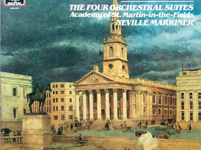 EMI Digital/Marriner/Bach - The Four Orchestral Suites / 2-LP set / German Pressings / EX