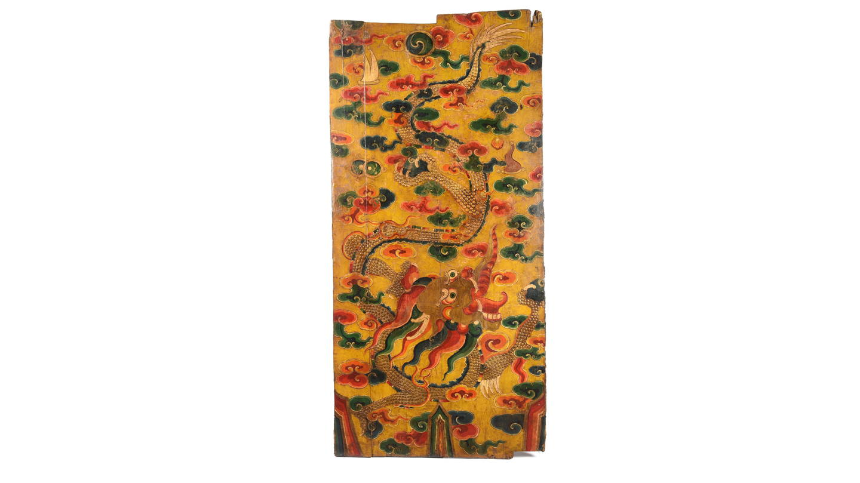 Painted Tibetan Door Panels & Tibetan Antique Furniture | Indigo Antiques