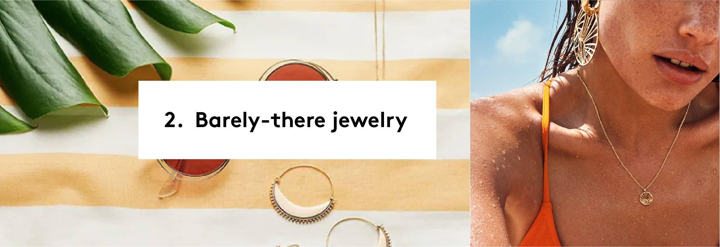 Get the BARELY-THERE JEWELRY from PILGRIM!