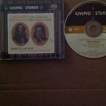 Beethoven  Mendelssohn Violin Concetos