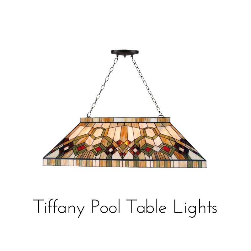 tiffany pool table lights