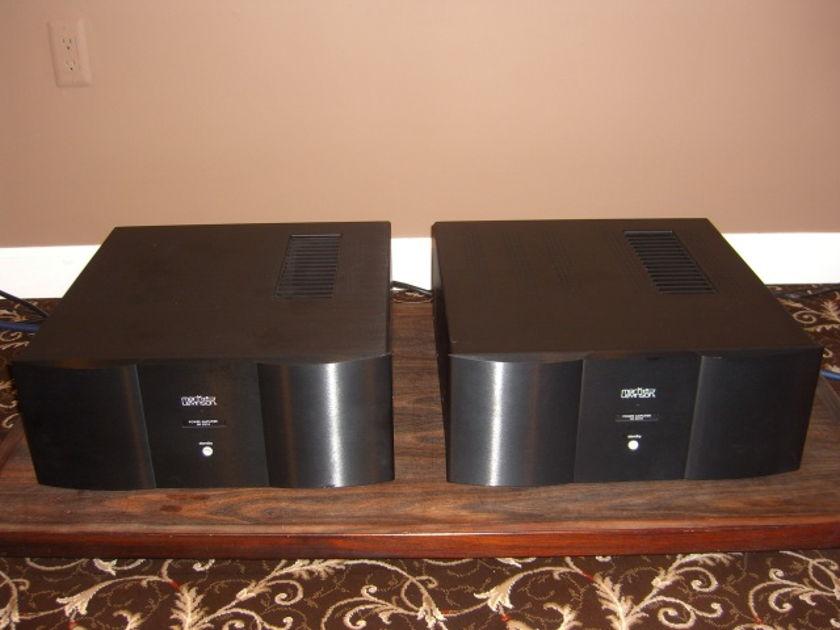 A pair Mark Levinson  No 531h Mono Amplifier.