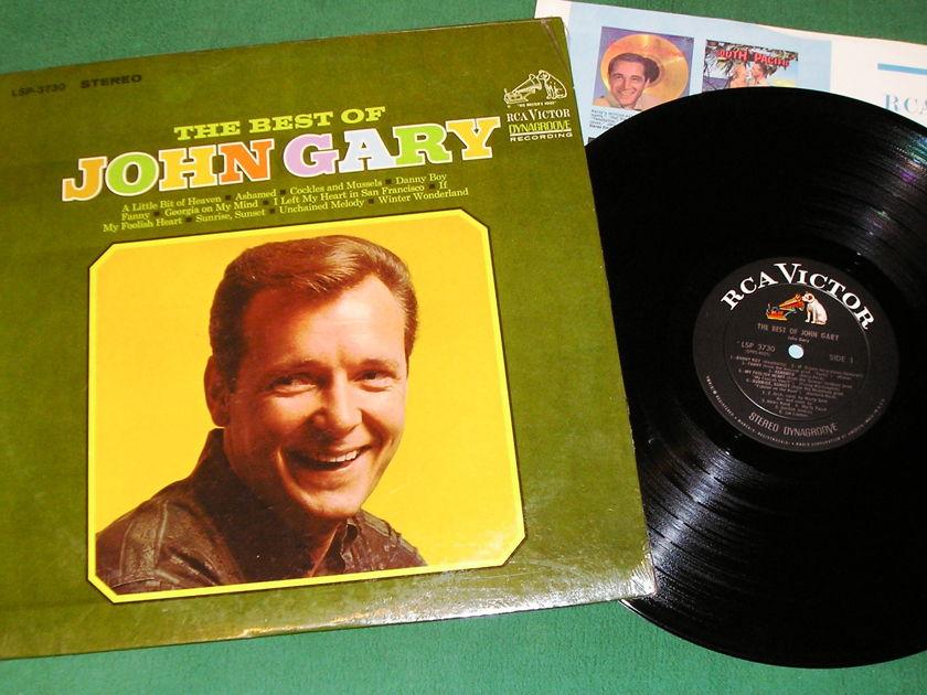 JOHN GARY - THE BEST OF JOHN GARY   - ** 1967 RCA VICTOR DYNAGROOVE ** NM 9/10