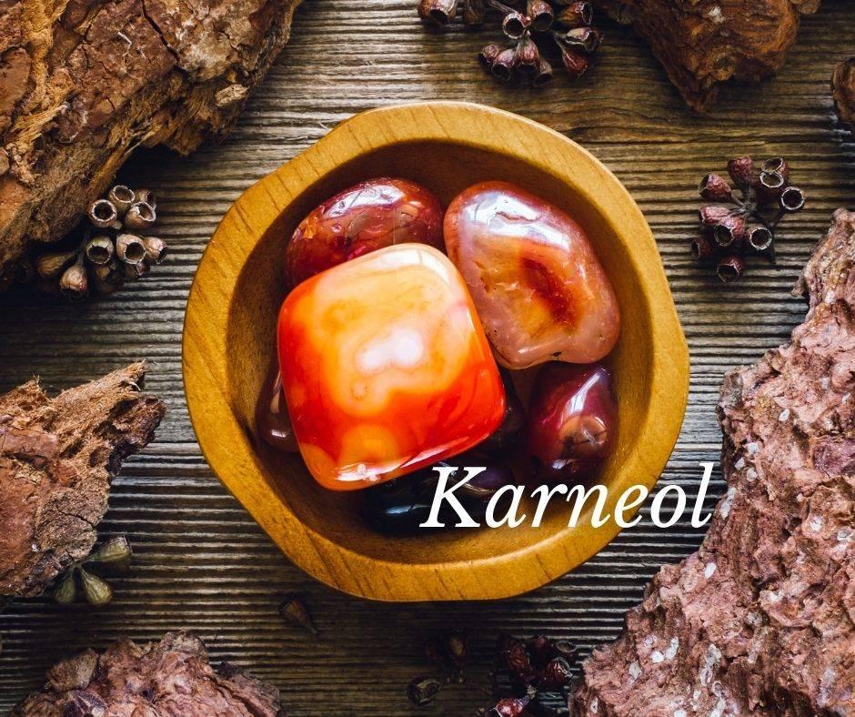 Edelstein für die Jungfaru - Karneol