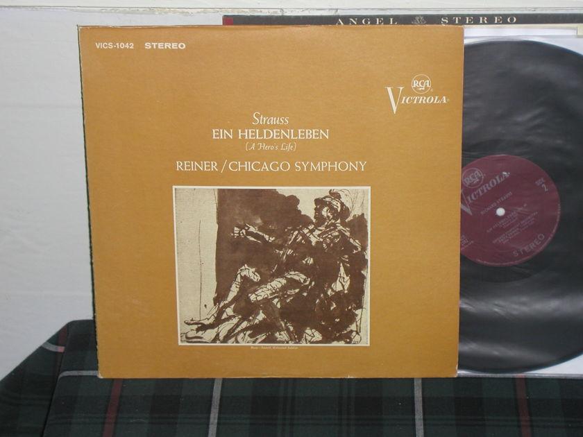 Reiner/Cso - Strauss Ein Heldenle RCA Plum Victrola VICS-1042