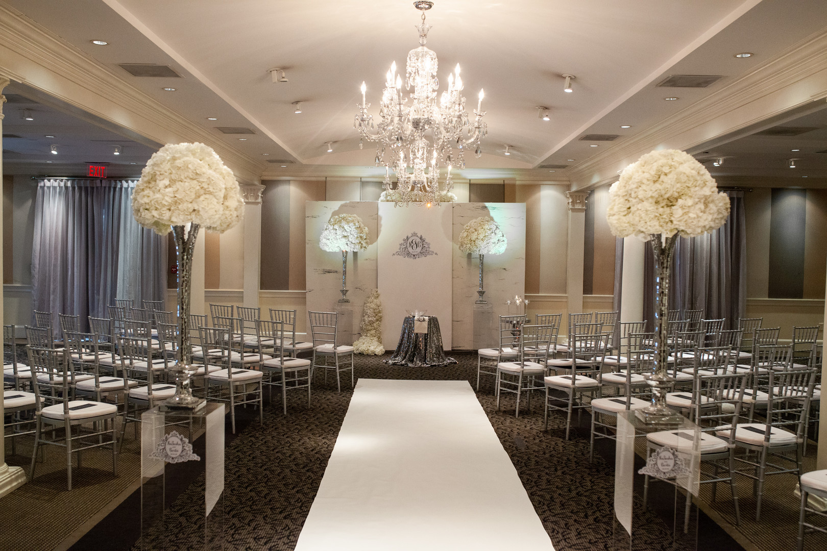 Elegance and Class in a Ballroom
