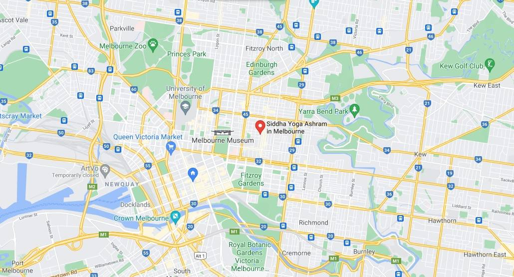Map of Melbourne, Click to Open Google Maps