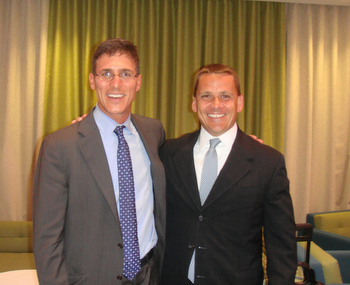 David Canter with one of his brightest M&A pupils, Marty Bicknell -- or is it the other way around?