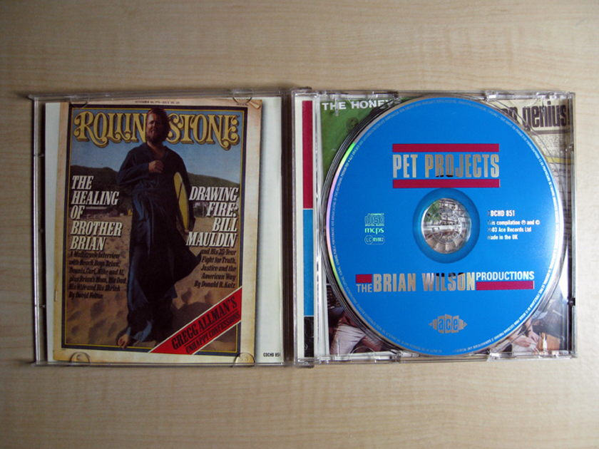 Various Artists Produced by Brian Wilson - Pet Projects - The Brian Wilson Productions - UK Import 2003 Ace CDCHD 851
