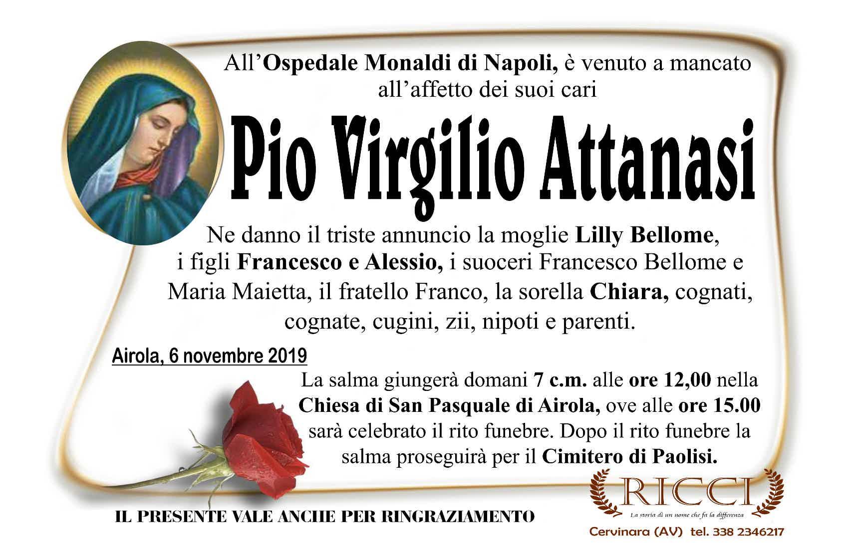 Pio Virgilio Attanasi