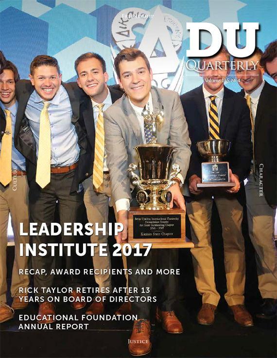Cover for DU Quarterly Volume 135, No. 4