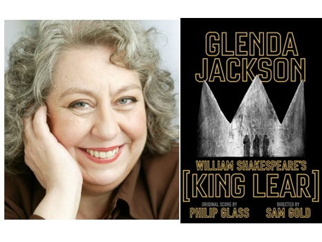 Broadway's King Lear + backstage visit with Jayne Houdyshell