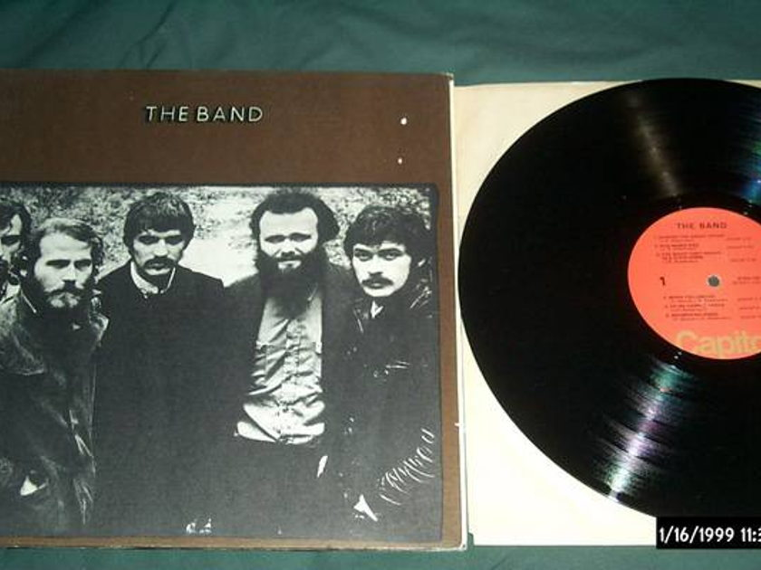 The band - S/T Gatefold Cover lp nm