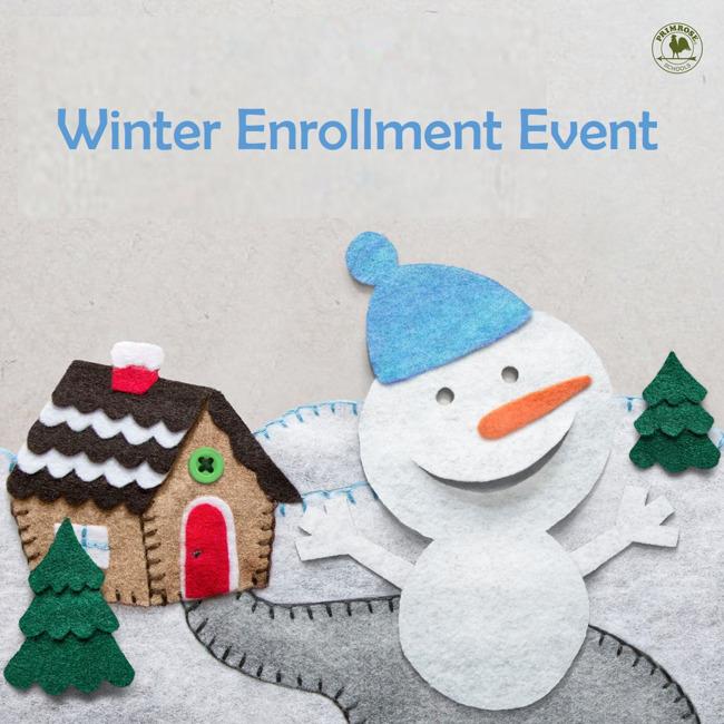 Winter Enrollment Event