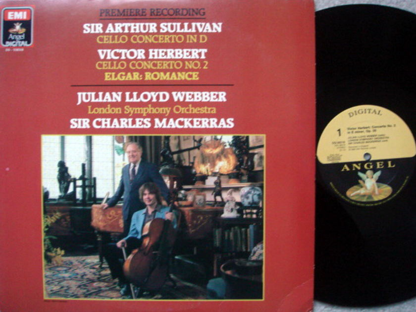 EMI Angel Digital / WEBBER-MACKERRAS, - Sullivan-Herbert Cello Conertos,  MINT!