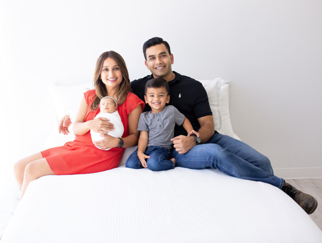 The Patel family attend Primrose School of Barker Cypress, 16555 Dundee Rd., Cypress, TX 77429.
