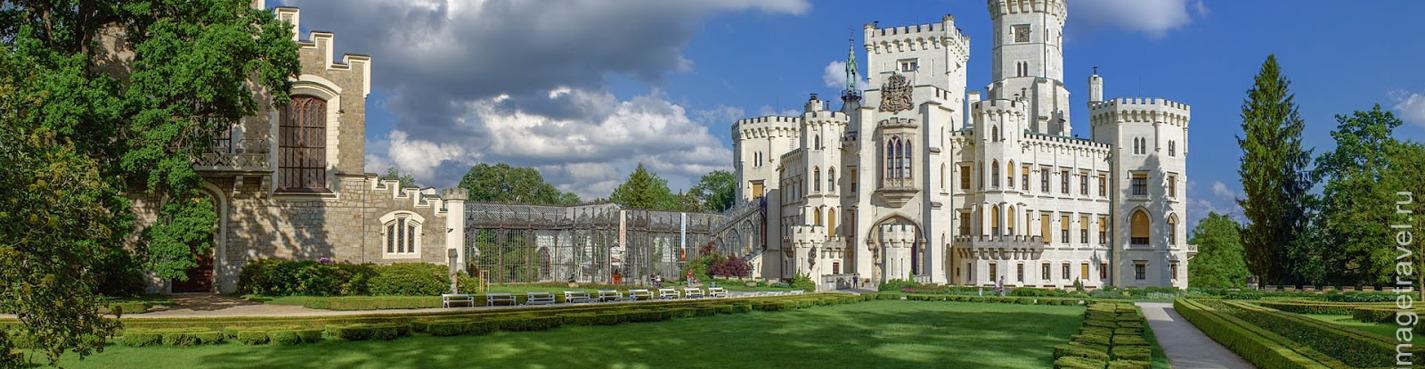 Из Праги в Чешский Крумлов + замок Глубока над Влтавой (выездная экскурсия)