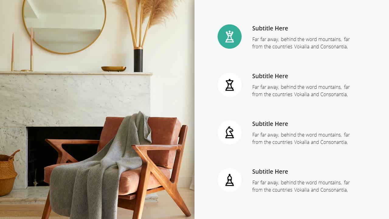 Minimal X  Company Profile Presentation Template Product Showcase