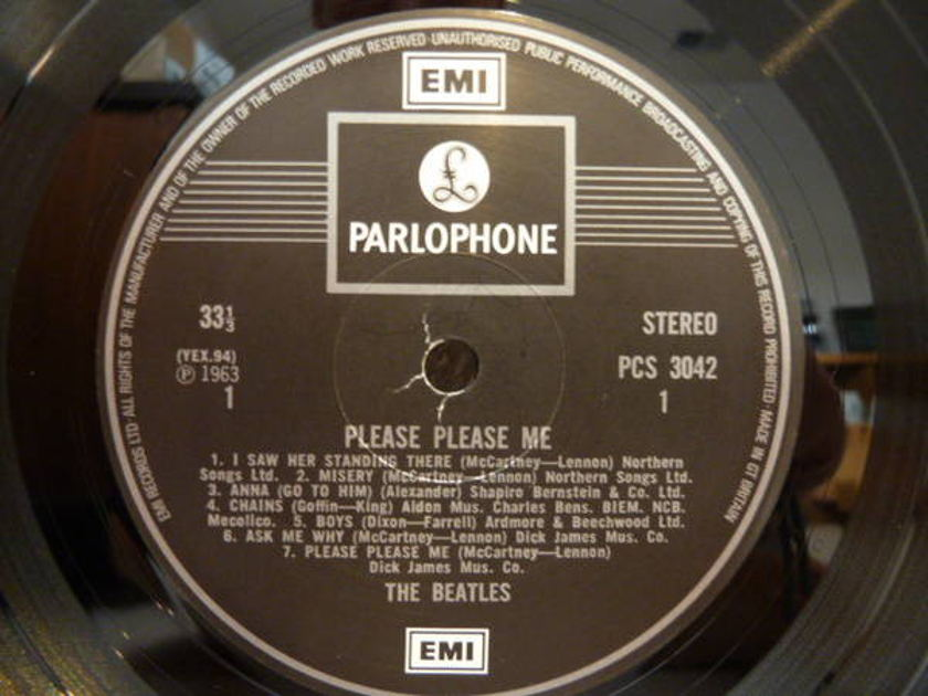 Beatles - Please Please Me UK press!