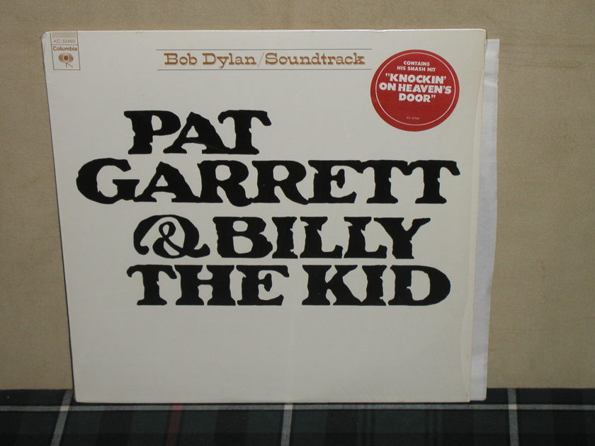 Bob Dylan - Pat Garrett/Billy Kid  Still in shrink  w/sticker. (Embossed cover)
