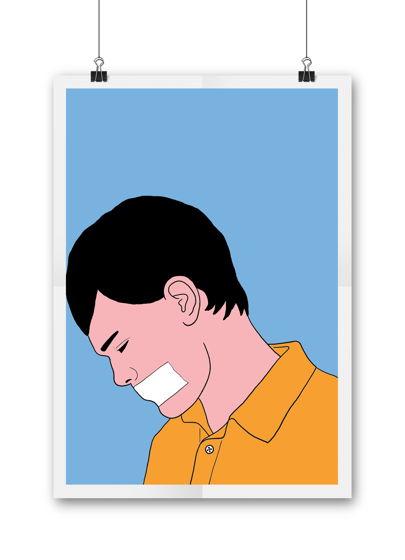 Постер Депрессия формат А3