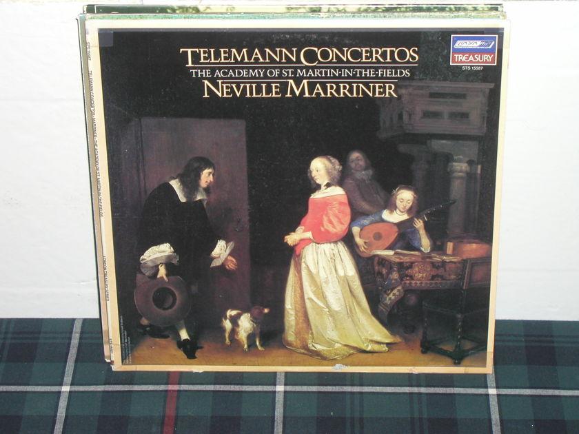 Marriner/AoStMitF - Telemann Ctos. London STS 155874