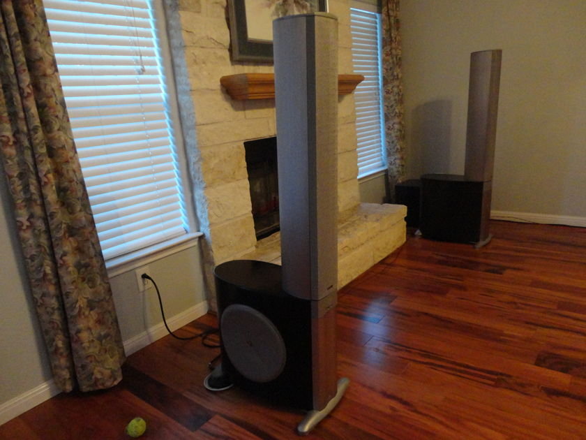 The Amazing Infinity  Prelude MTS Towers and Subwoofers World Class on a budget