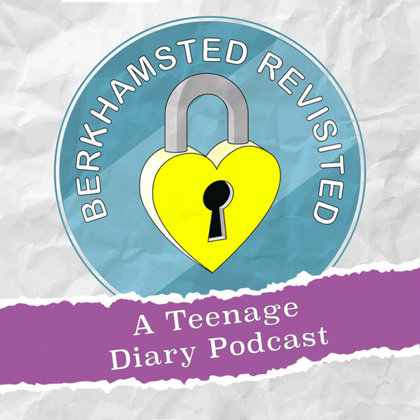 The artwork for the Berkhamsted Revisited: A Teenage Diary Podcast podcast.