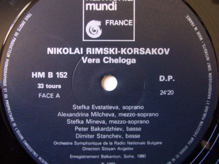 ★Audiophile★ Harmonia Mundi / ANGELOV, - Rimsky-Korsakov Vera Cheloga, NM!