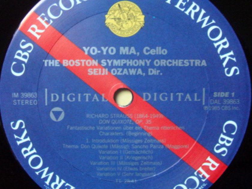 CBS Digital / YO-YO MA-OZAWA, - Schoenberg Cello Concerto, MINT!