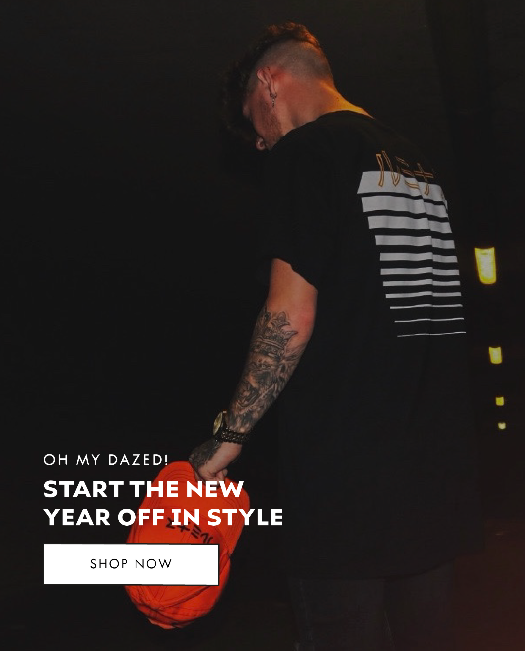 Oh My Dazed! - Start The New Year Off In Style