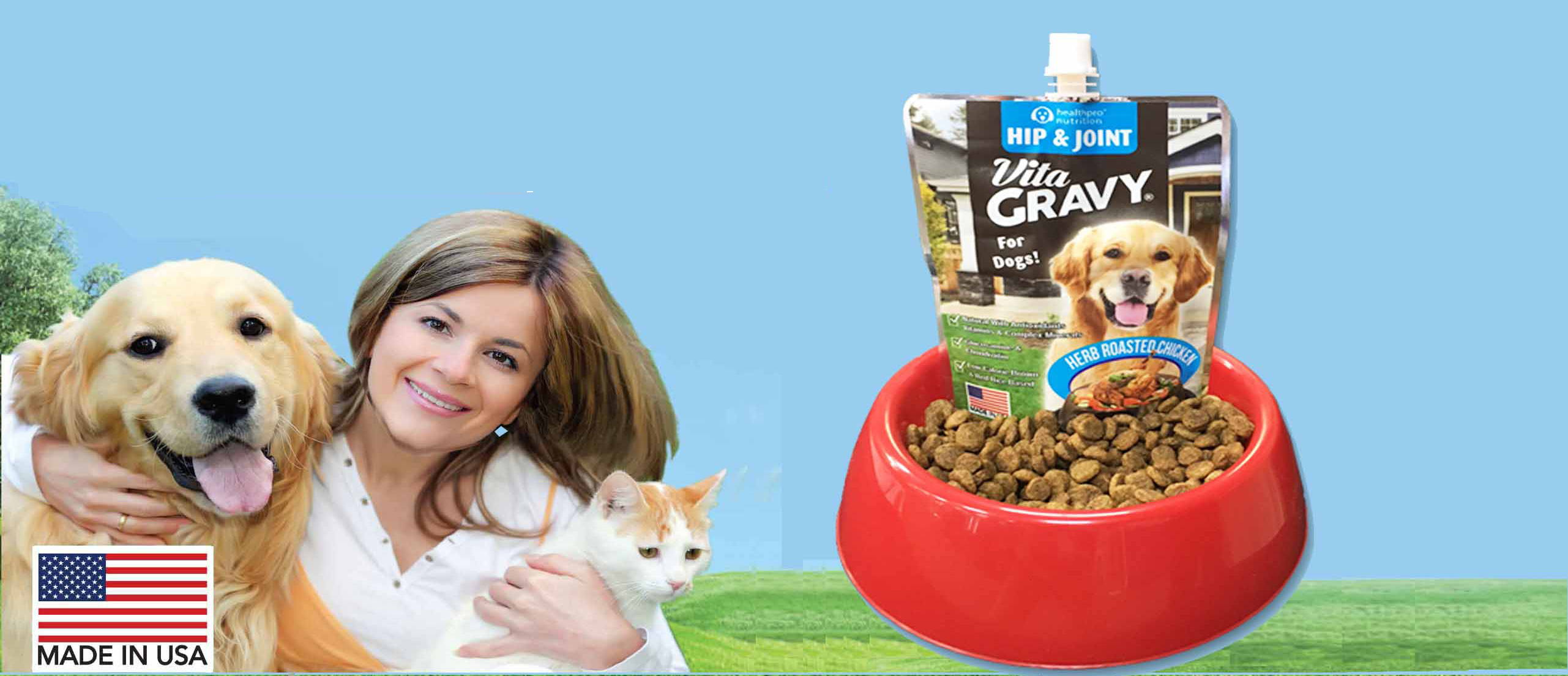 Vita Gravy For Dogs And Cats Health