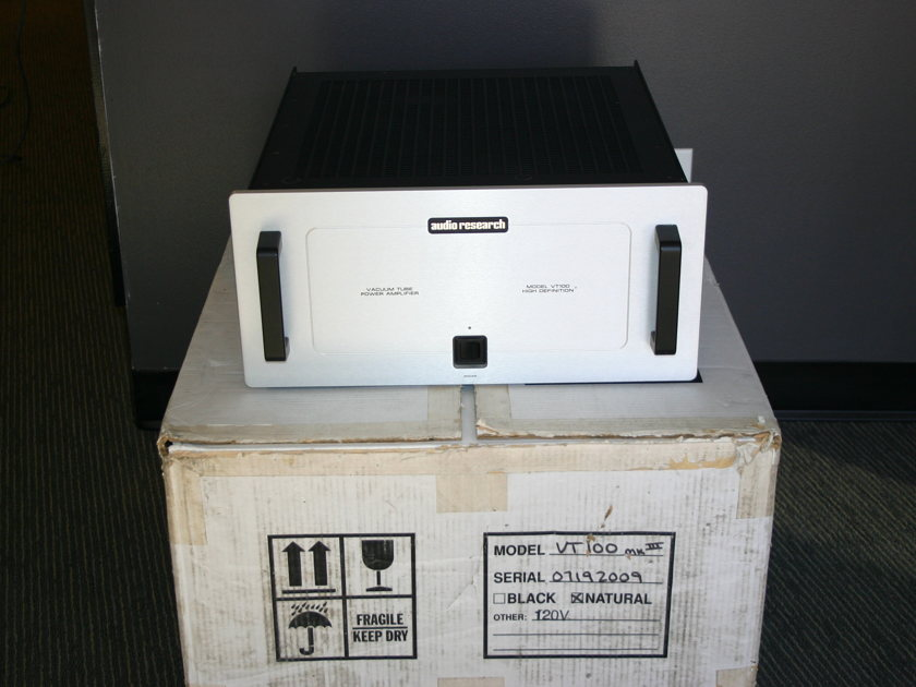 Audio Research VT-100 mkIII