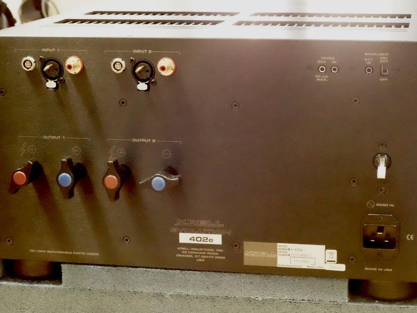 Krell Evolution 402e Stereo Amplifier