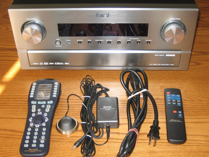 Sherwood Newcastle P-965  Home Theater Preamp Processor