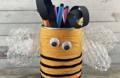 Pot à crayon en boite de conserve