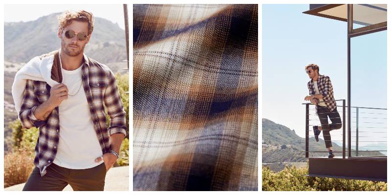 Parker Double Pocket Flannel Shirt