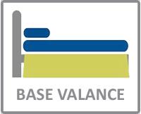 Base valance size