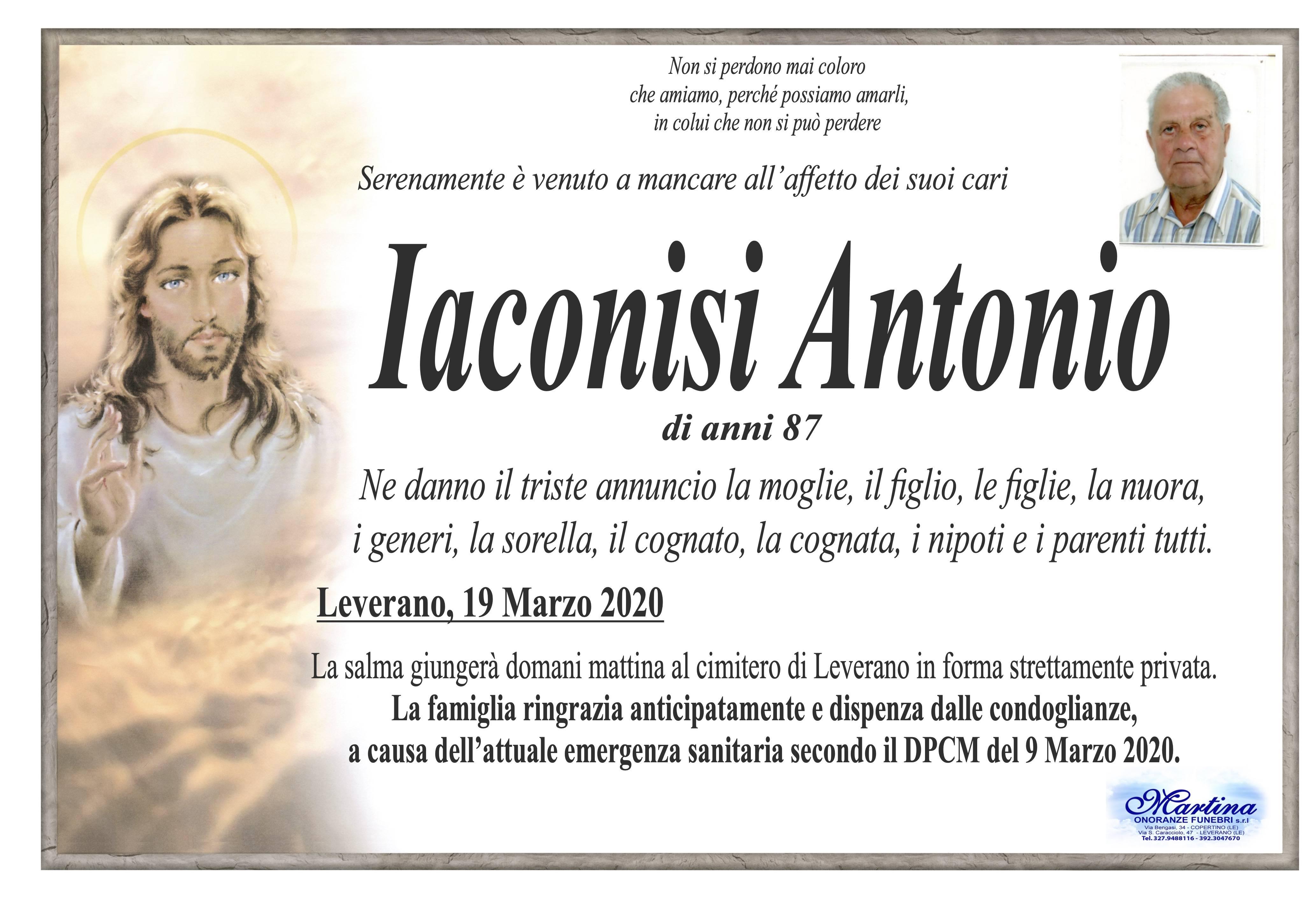 Antonio Iaconisi