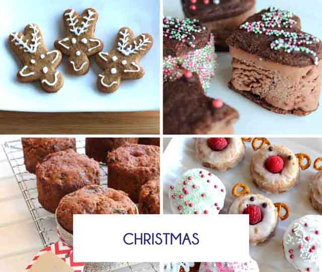 Gluten Free and dairy Free Christmas Recipes - Happy Tummies