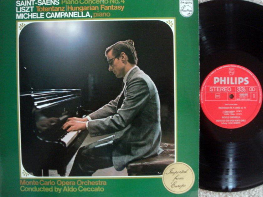 Philips / CAMPANELLA, - Saint-Saens Piano Concerto No.4,  MINT!