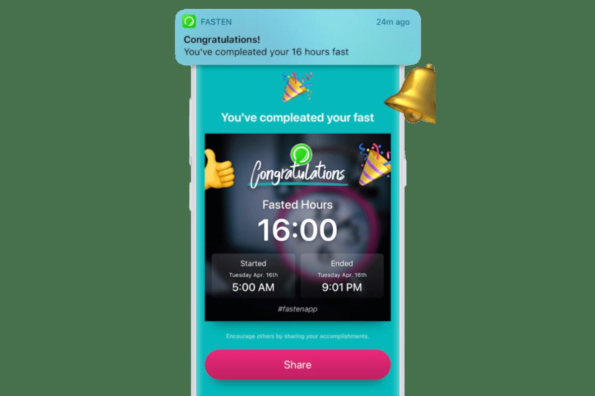 Fasten app features